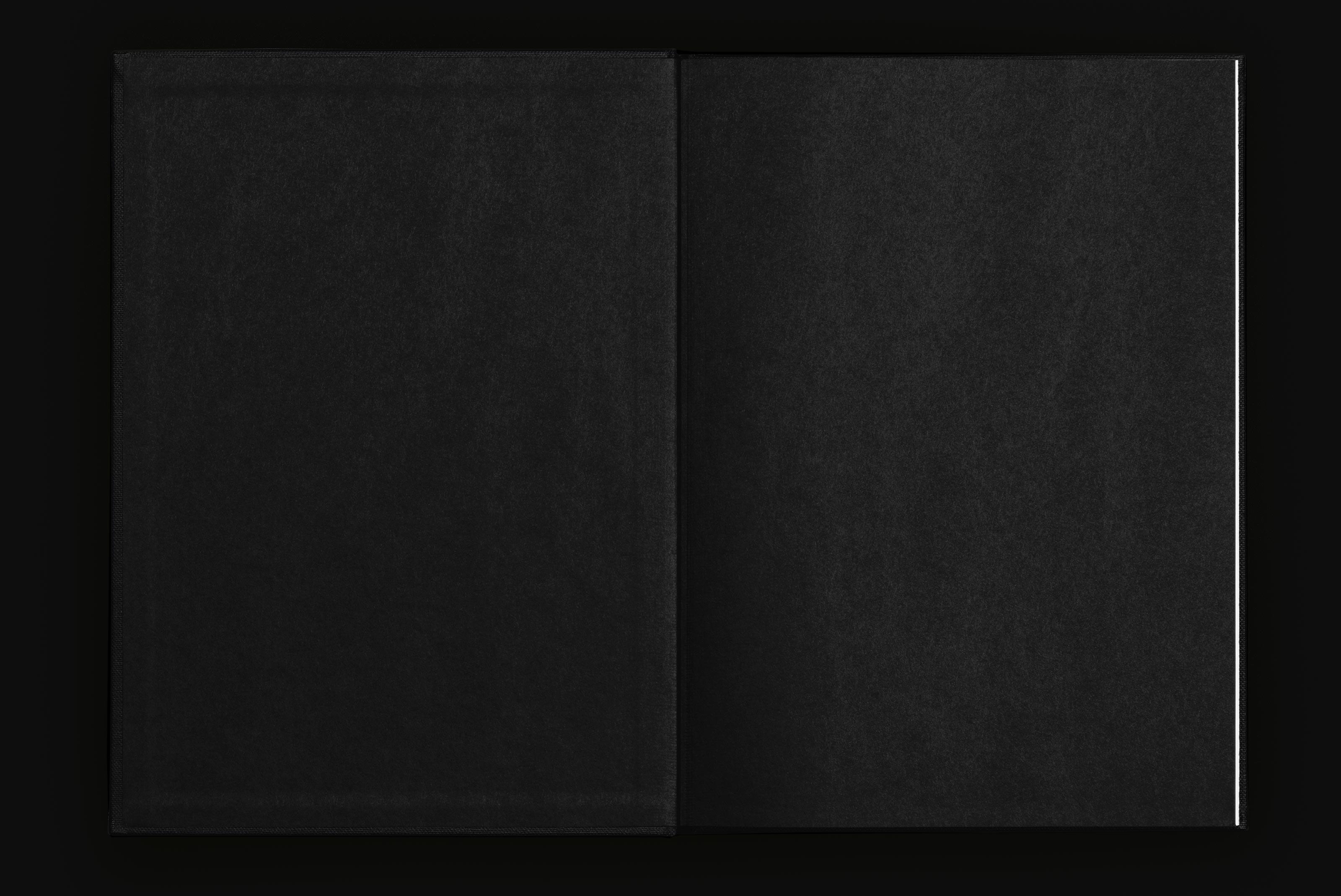 Peter Gysi – Monografie, endpaper, black ©Atelier Pol × Barbara Hess