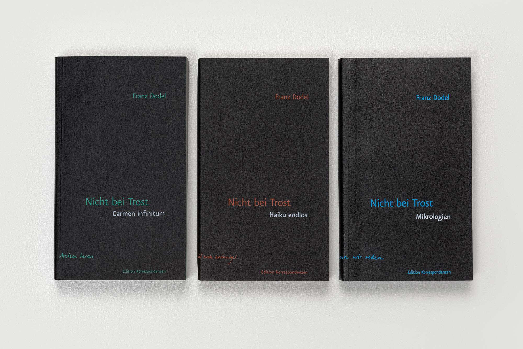 Frand Dodel – Nicht bei Trost, books ©Atelier Pol