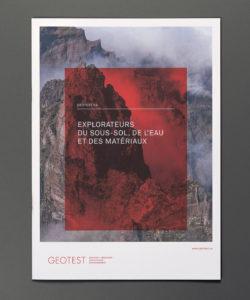 Geotest: Qualität nach aussen tragen