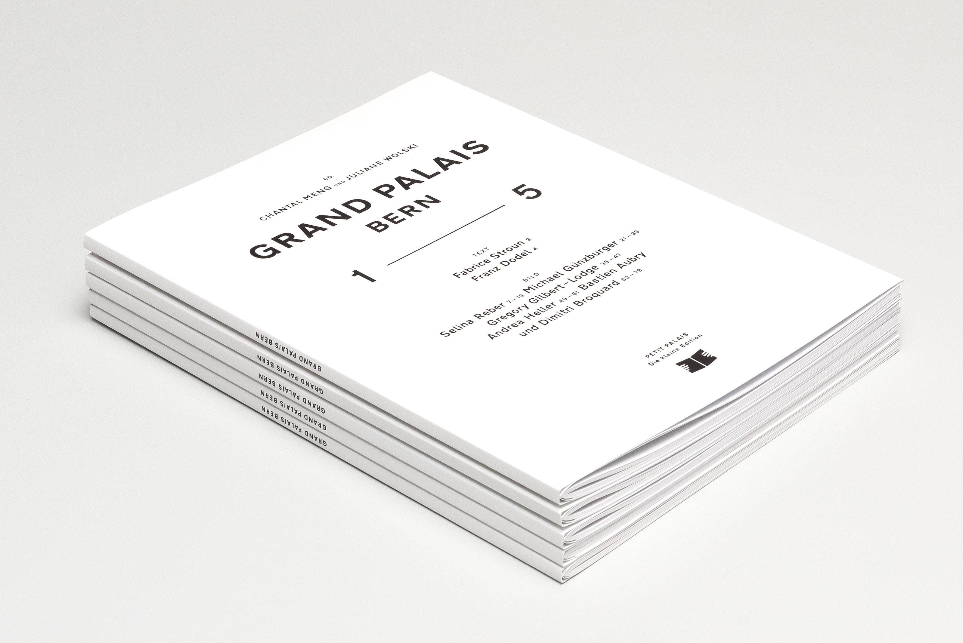 Grand Palais – 1—5, cover stack ©Atelier Pol × Barbara Hess