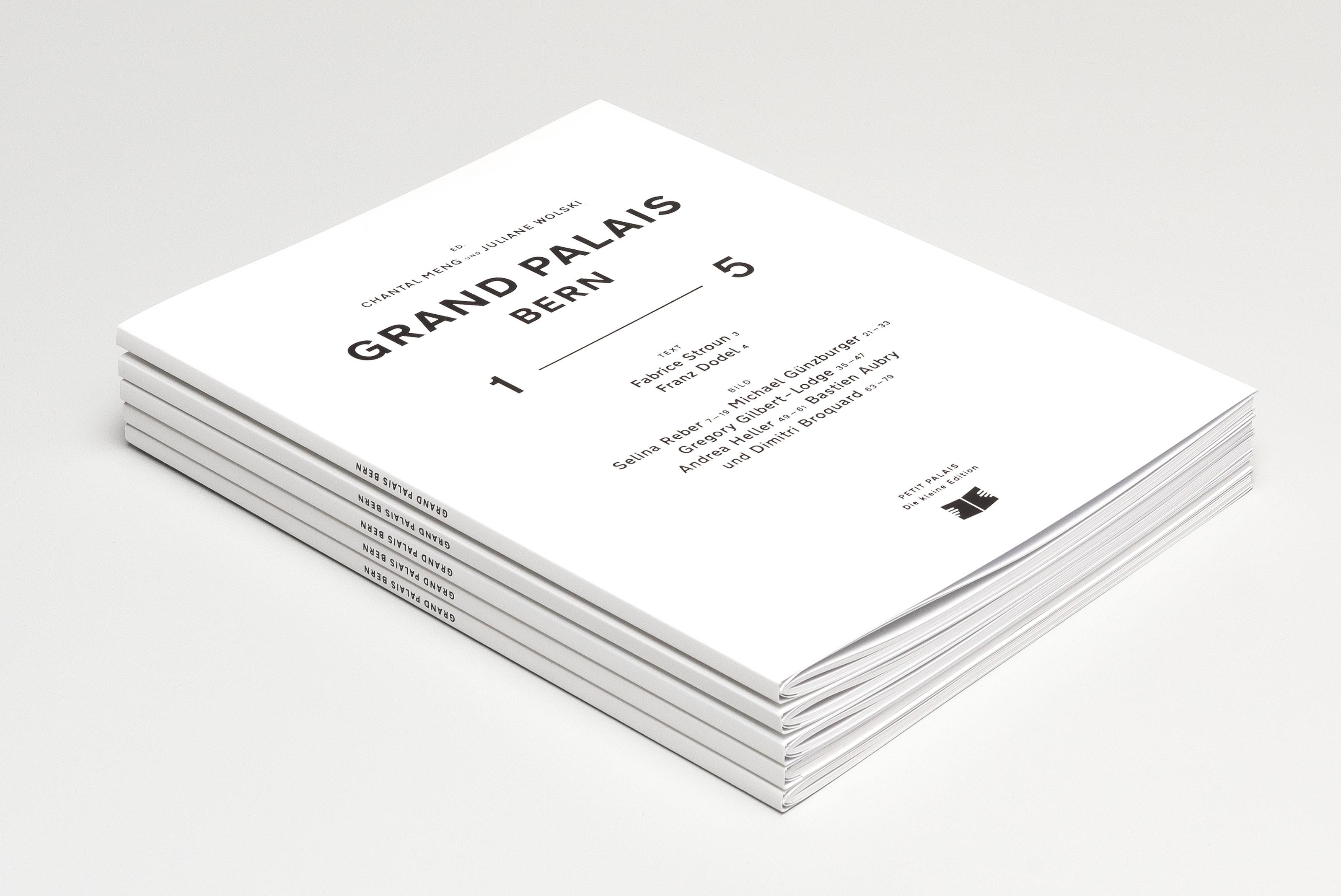 Grand Palais – 1—5, cover stack ©Atelier Pol × Barbara Hess
