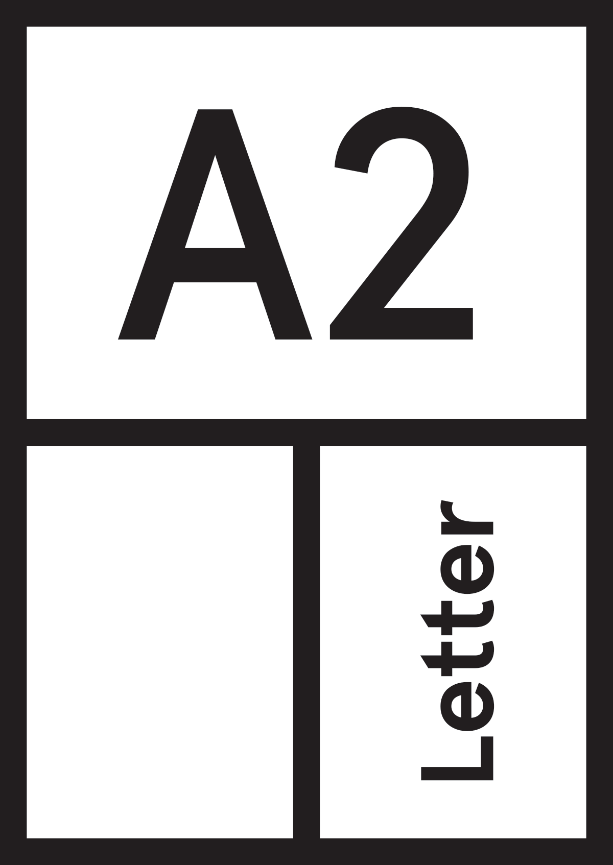 A2 Letter – Biweekly. Printed. Inspiration.