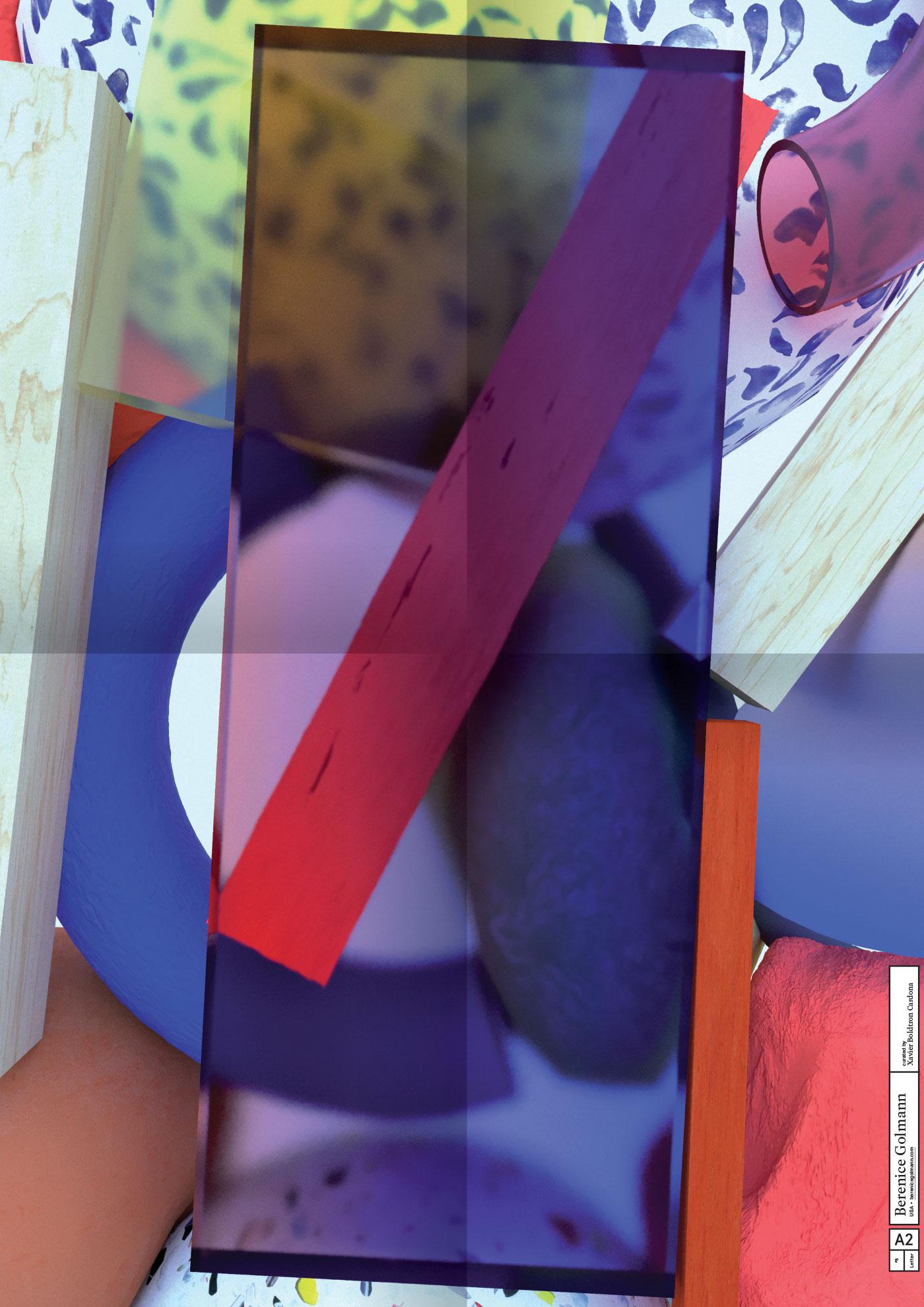 A2 Letter Poster, 008 Berenice Golmann  ©Atelier Pol