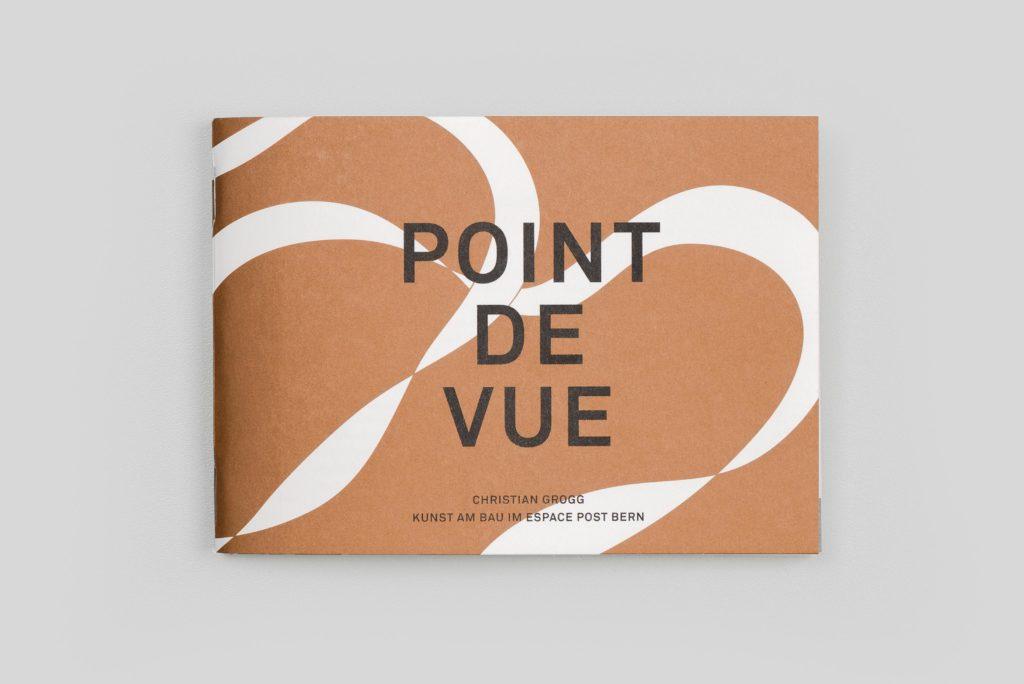 Atelier Pol, Kunstkommission, Schweizerische Post, Christian Grogg, PointdeVue, cover, art, swiss graphic design studio bern, editorial design