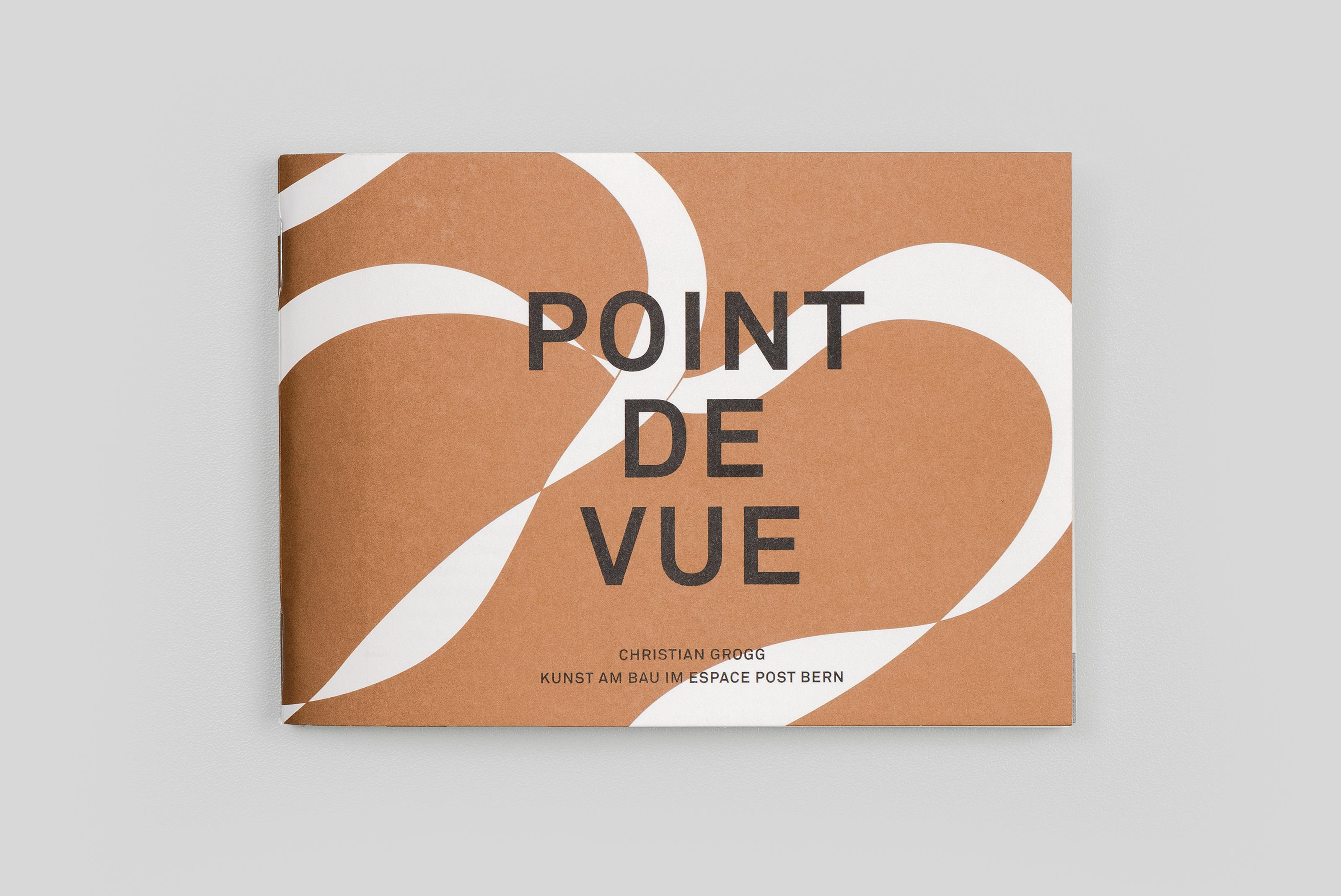 Kunstkommission der Schweizerischen Post, Christian Grogg – Point de Vue, cover ©Atelier Pol × Barbara Hess