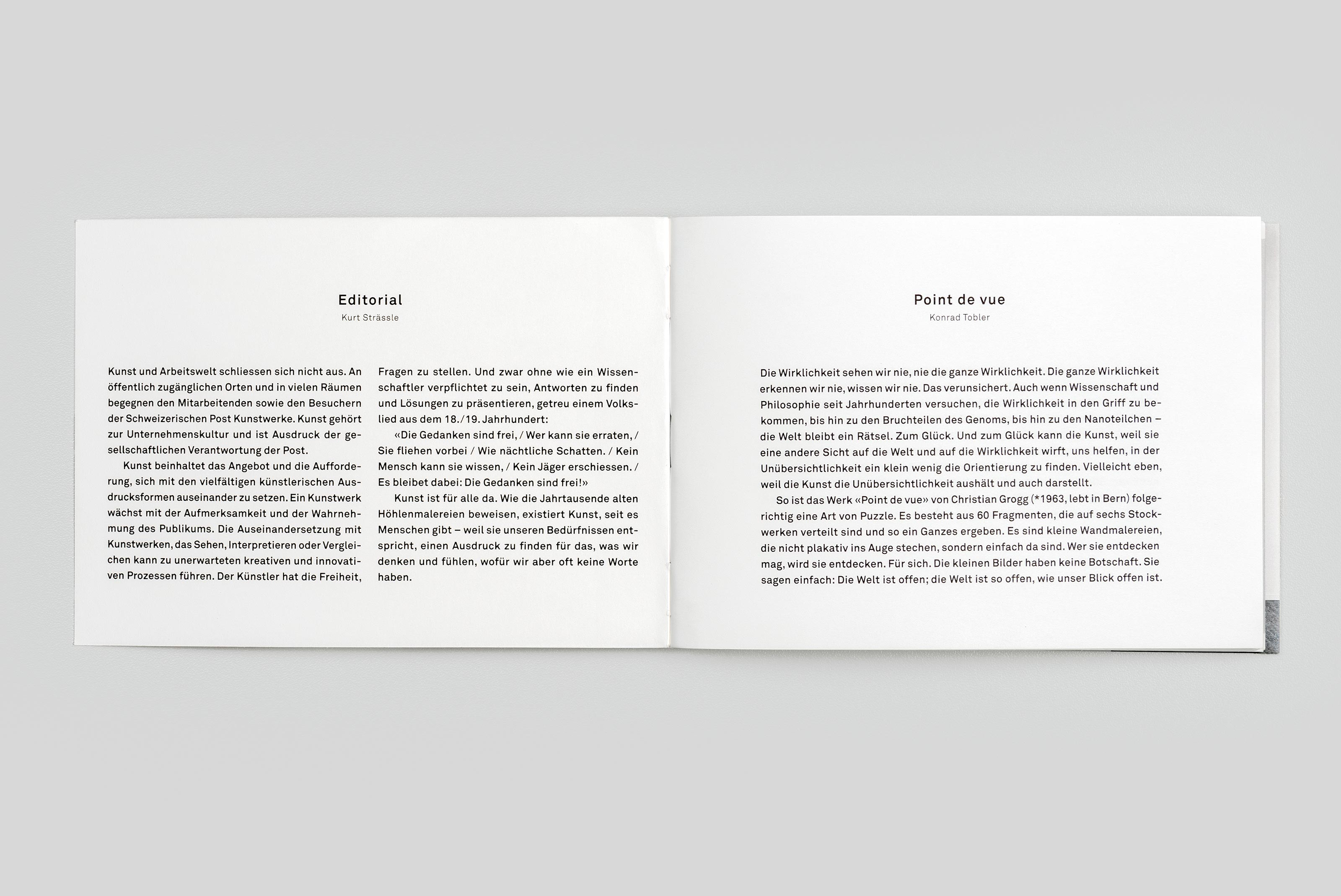 Kunstkommission der Schweizerischen Post, Christian Grogg – Point de Vue, content text ©Atelier Pol × Barbara Hess