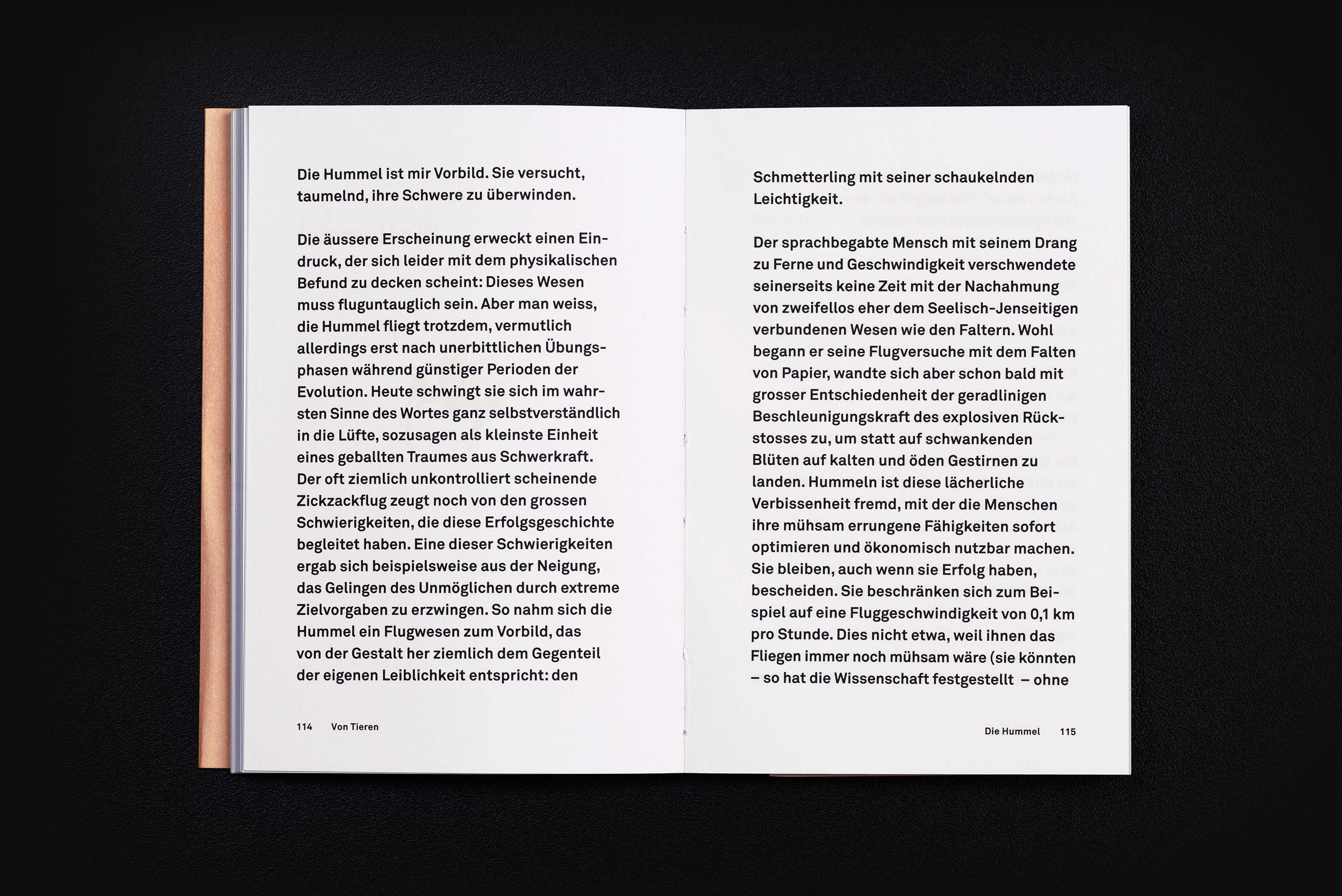 Frand Dodel – Von Tieren, content text ©Atelier Pol × Barbara Hess