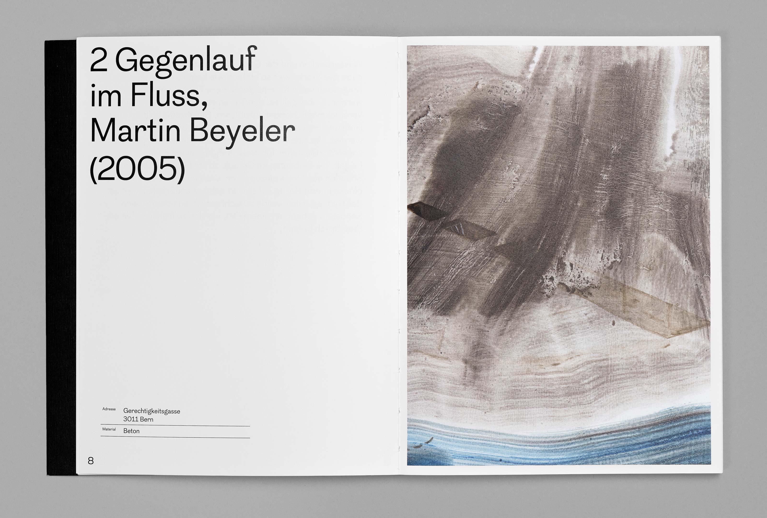 bePArt – Kunst im öffentlichen Raum Bern, spreads 8–- ©Atelier Pol × Barbara Hess