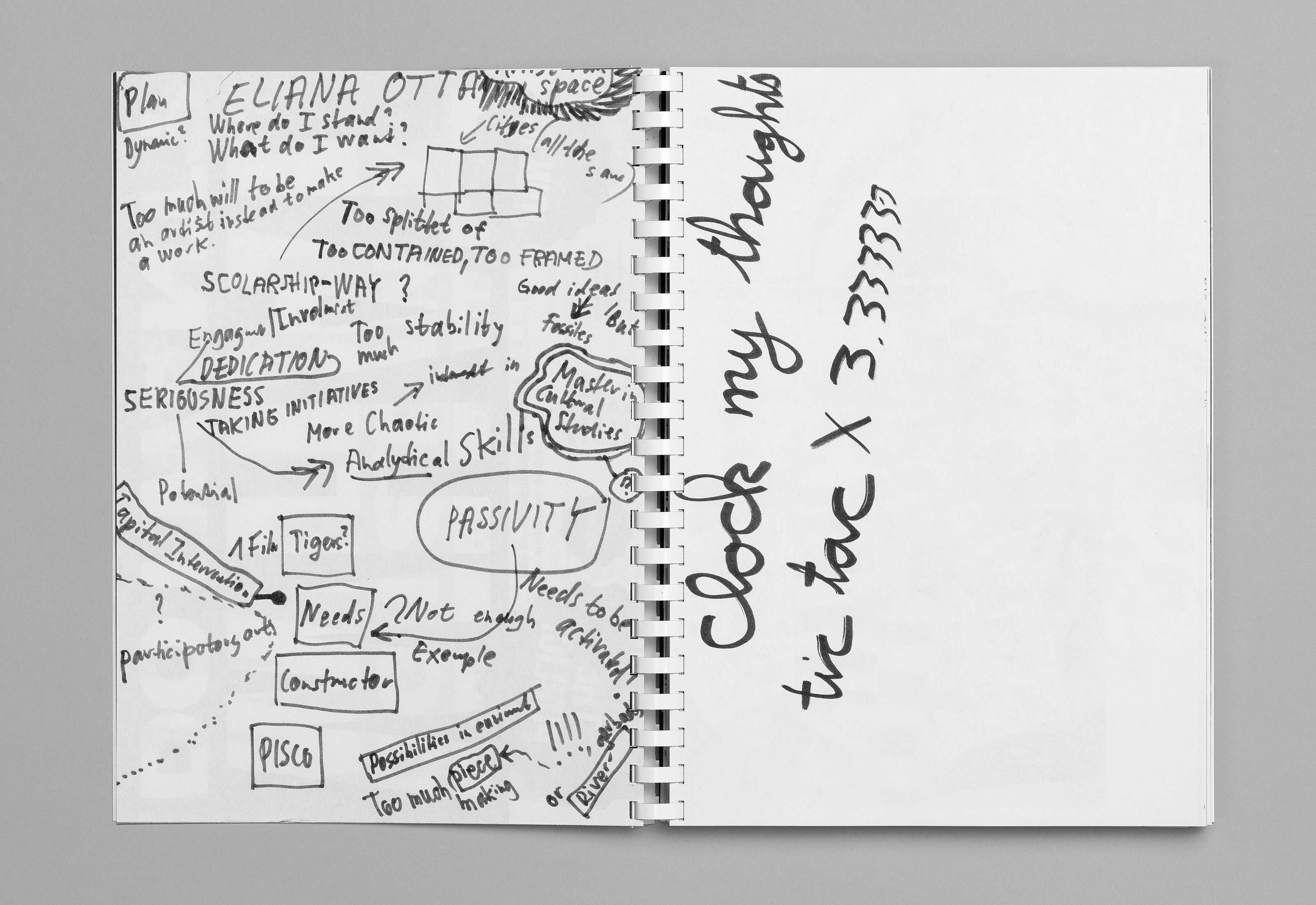 Sommerakademie im Zentrum Paul Klee 2016 – Publikation Thomas Hirschhorn, 02  ©Atelier Pol