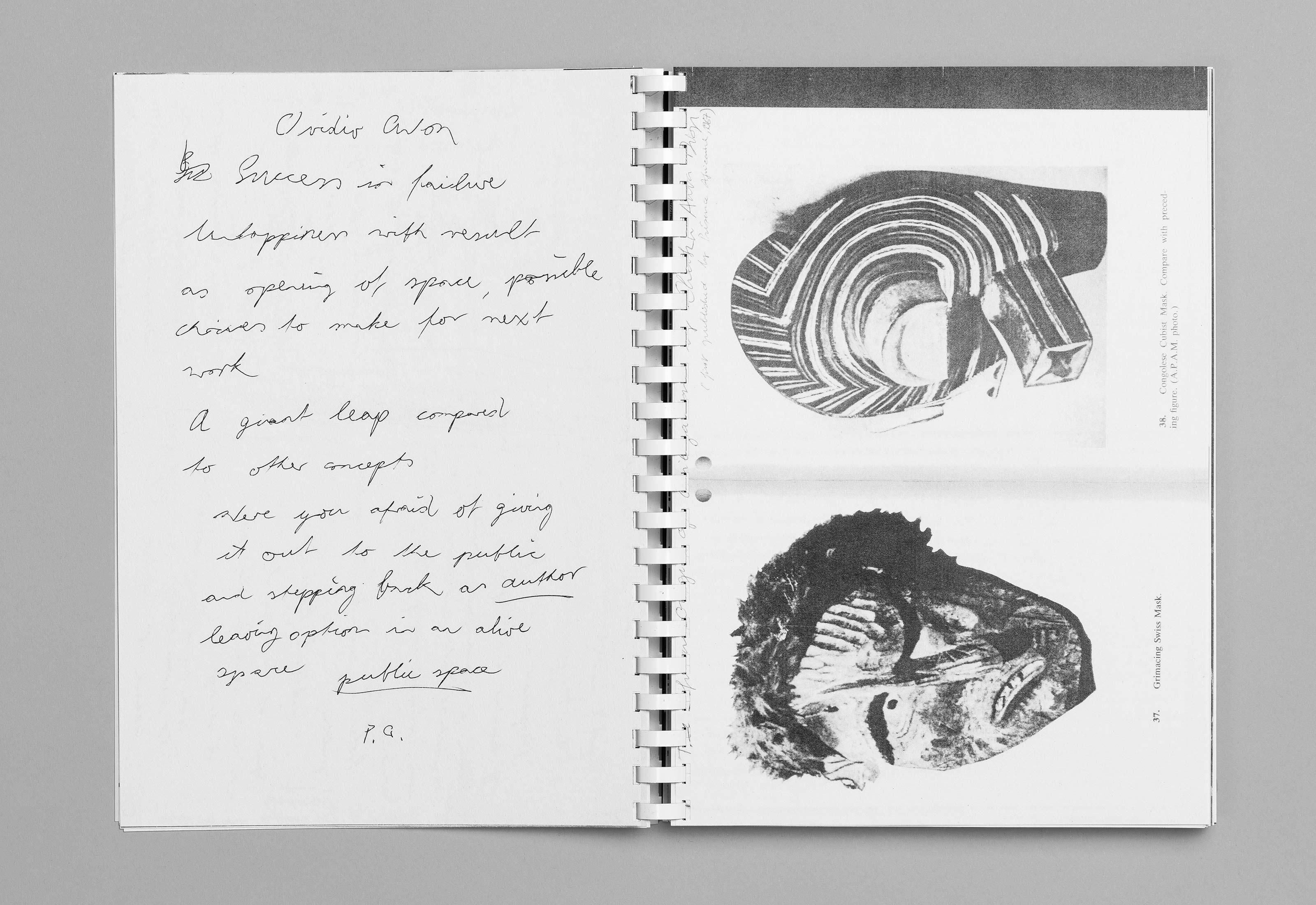 Sommerakademie im Zentrum Paul Klee 2016 – Publikation Thomas Hirschhorn, 03  ©Atelier Pol