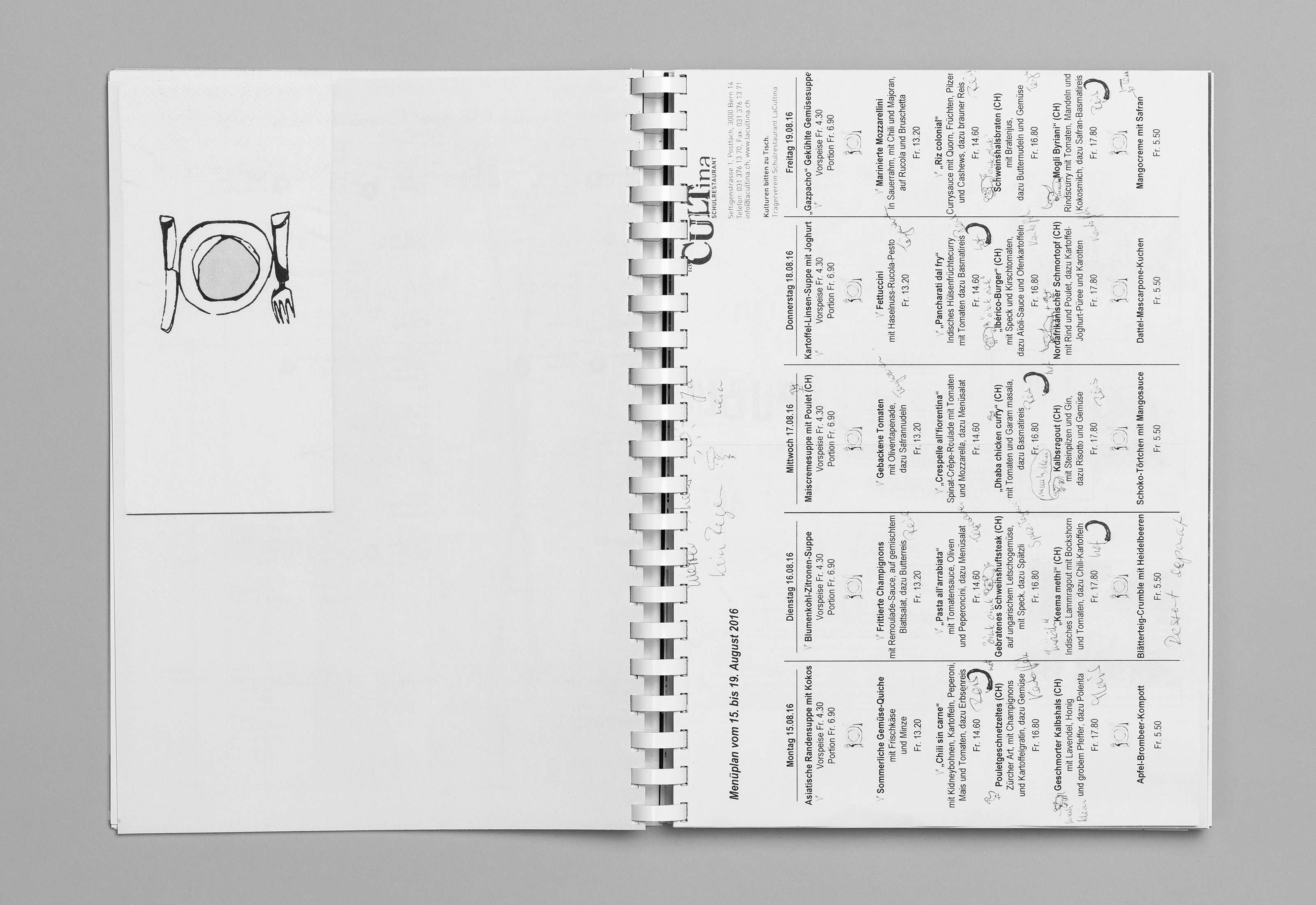 Sommerakademie im Zentrum Paul Klee 2016 – Publikation Thomas Hirschhorn, 06  ©Atelier Pol