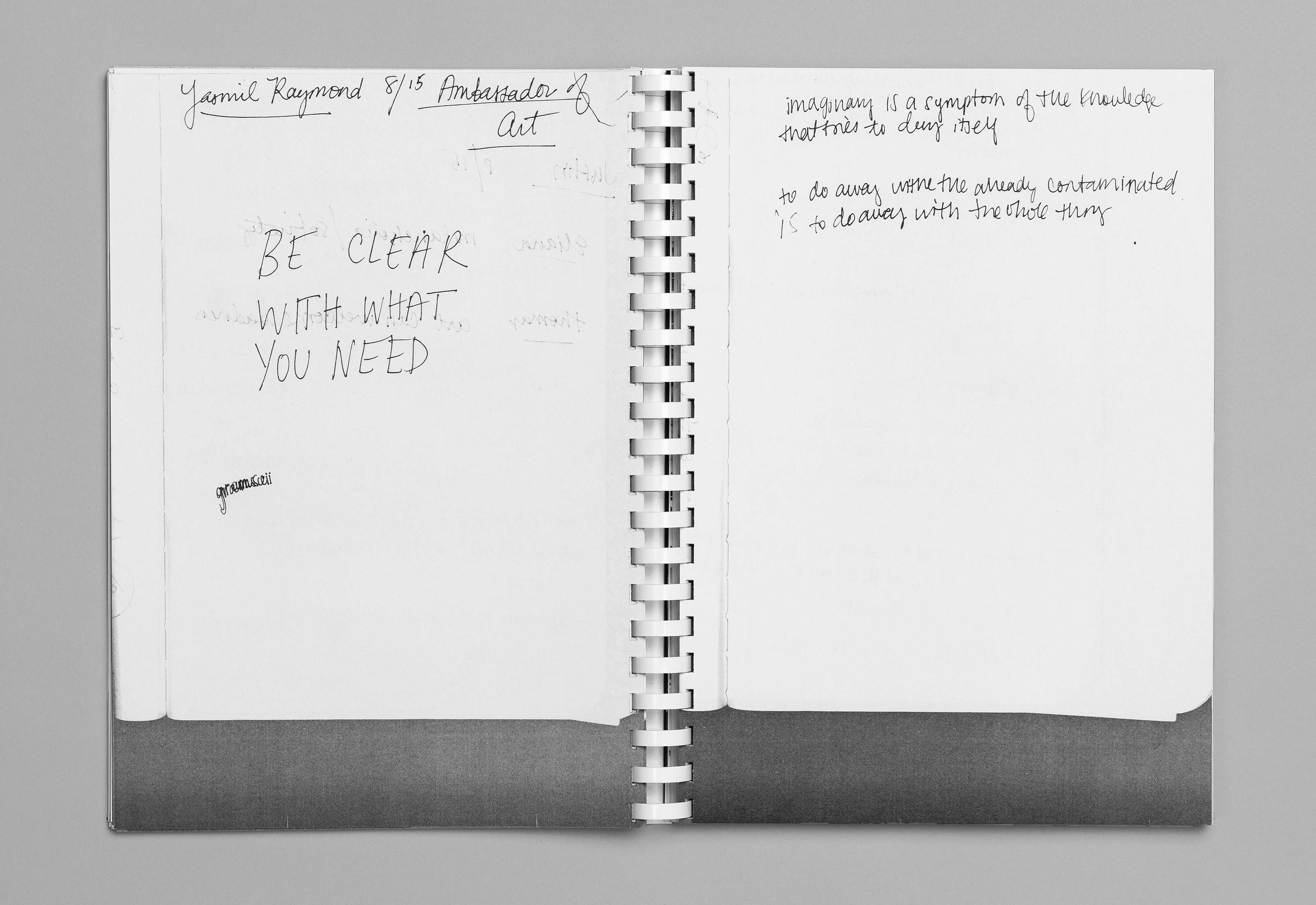 Sommerakademie im Zentrum Paul Klee 2016 – Publikation Thomas Hirschhorn, 10  ©Atelier Pol