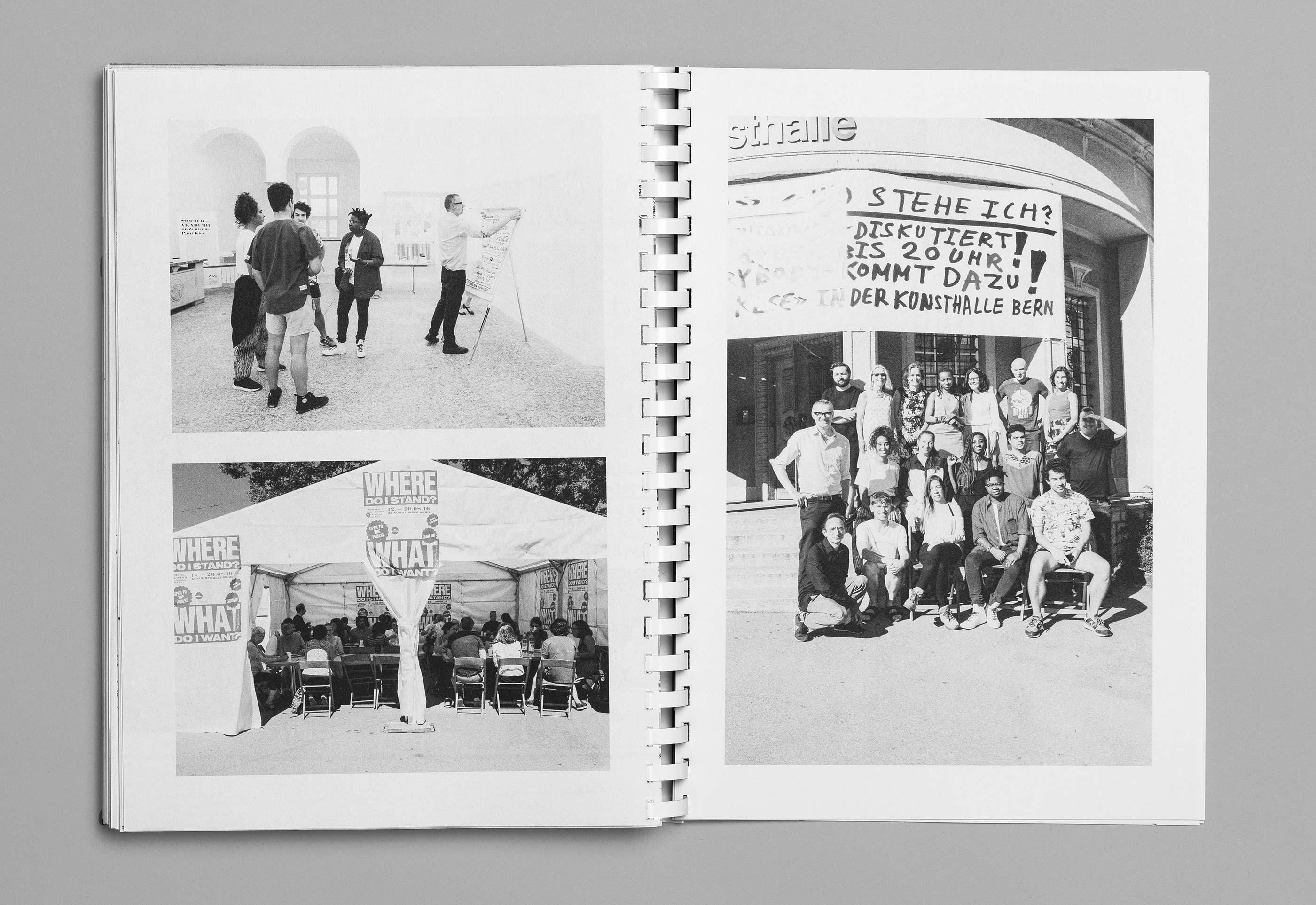Sommerakademie im Zentrum Paul Klee 2016 – Publikation Thomas Hirschhorn, 14  ©Atelier Pol