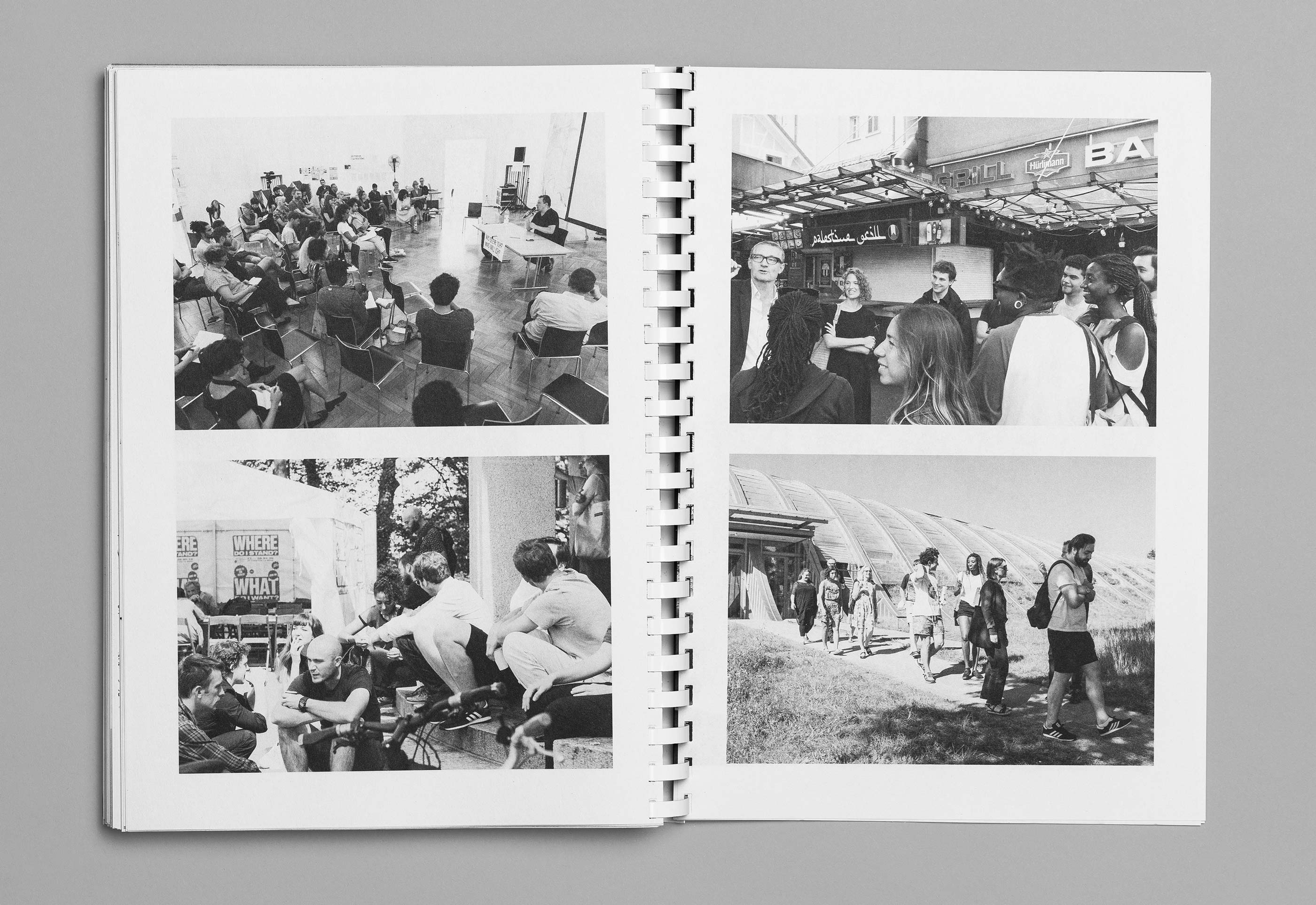 Sommerakademie im Zentrum Paul Klee 2016 – Publikation Thomas Hirschhorn, 15  ©Atelier Pol