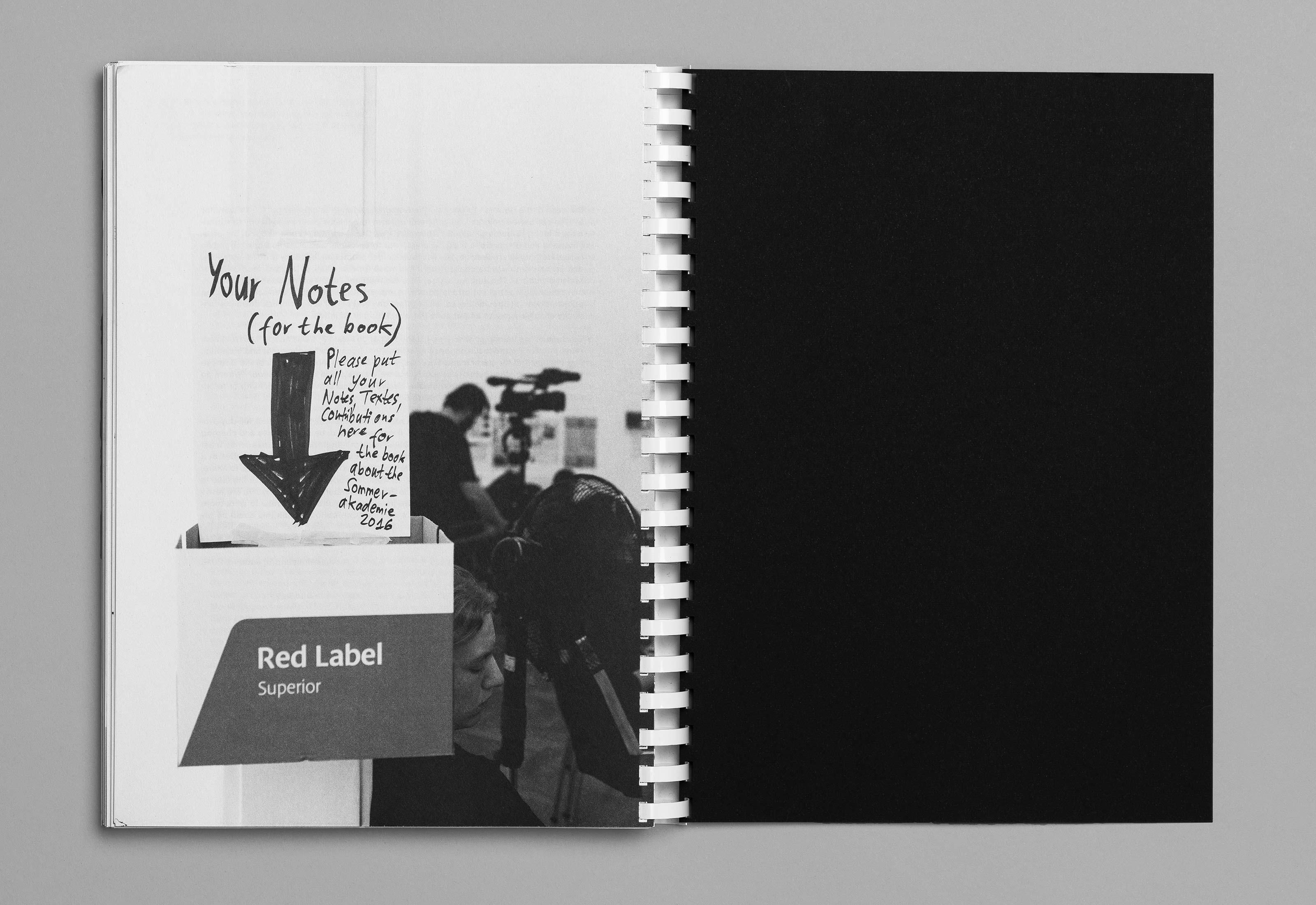 Sommerakademie im Zentrum Paul Klee 2016 – Publikation Thomas Hirschhorn, 18  ©Atelier Pol