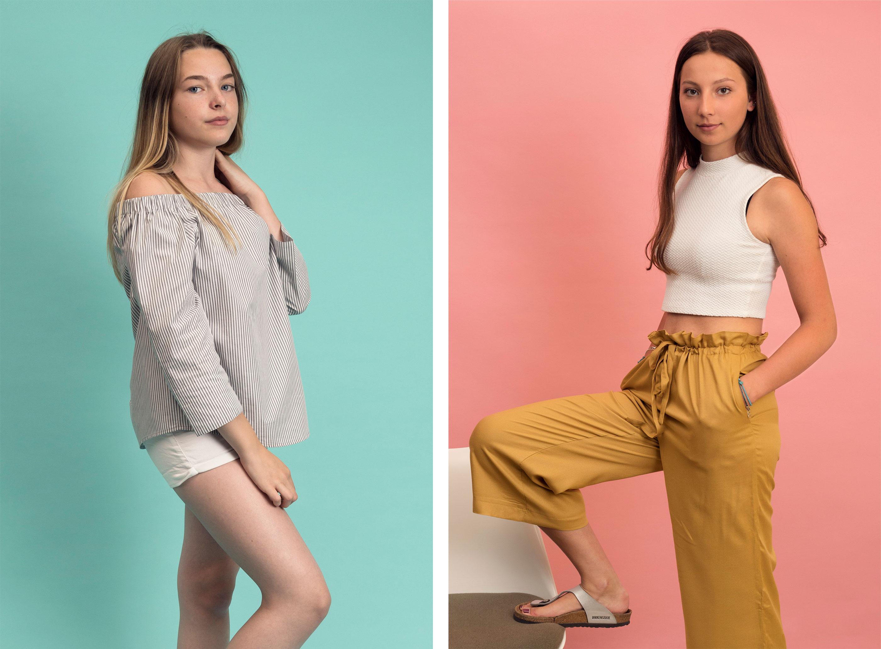 Textil Tricot Vogt – Katalog, fashion 03 ©Atelier Pol × Joëlle Lehmann
