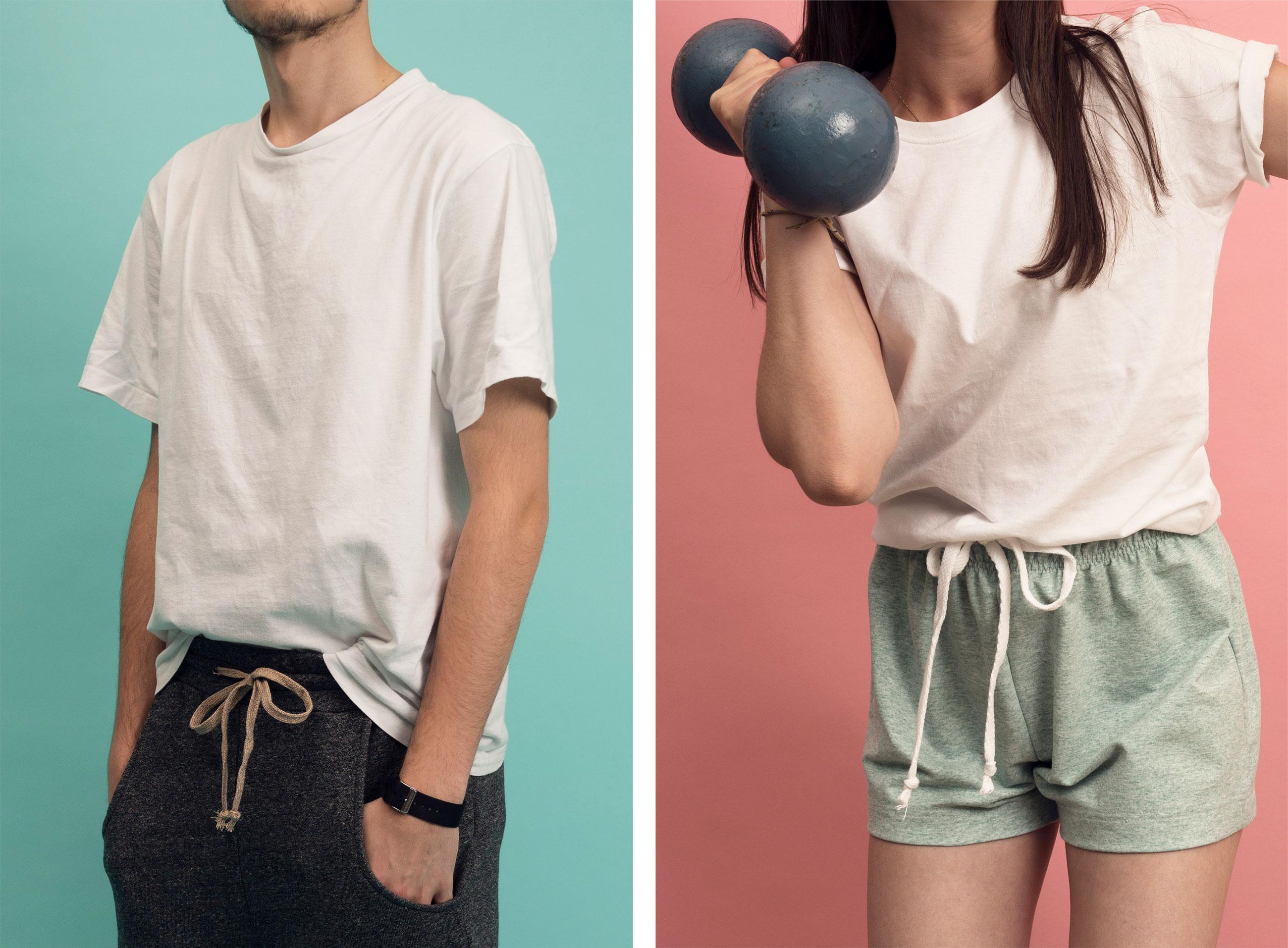 Textil Tricot Vogt – Katalog, fashion 04 ©Atelier Pol × Joëlle Lehmann