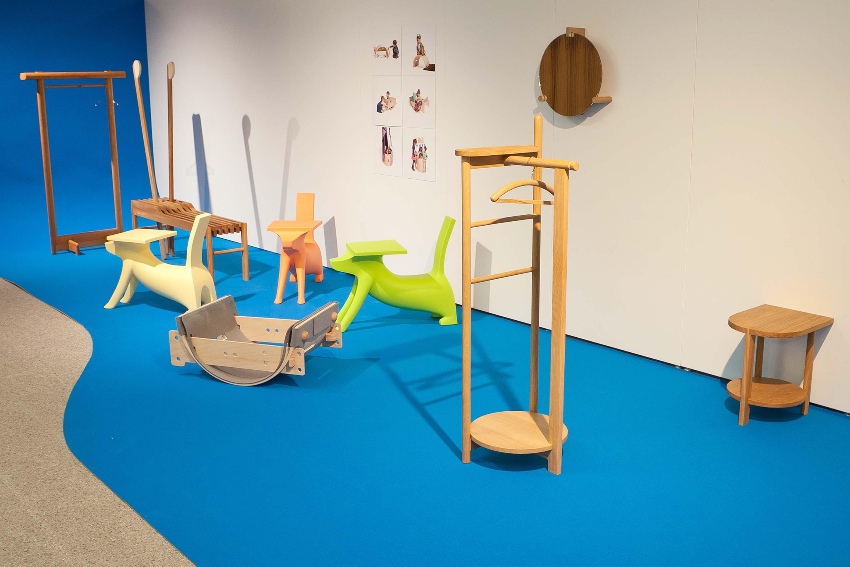Schule für Gestaltung Bern und Biel Out of Mud, exhibition 02  ©Atelier Pol × Fabio Blaser