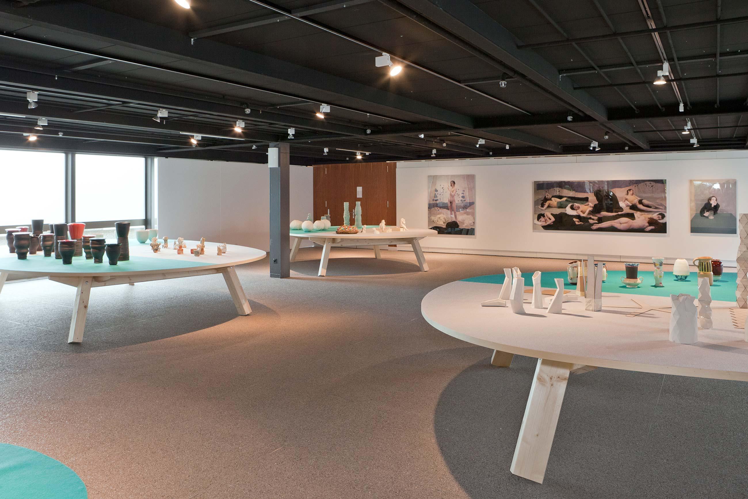 Schule für Gestaltung Bern und Biel Out of Mud, exhibition 03  ©Atelier Pol × Fabio Blaser