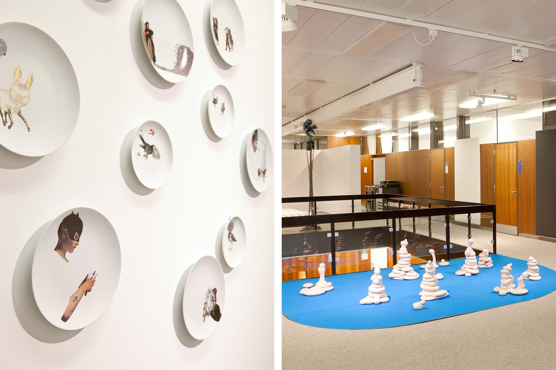 Schule für Gestaltung Bern und Biel Out of Mud, exhibition 05  ©Atelier Pol × Fabio Blaser