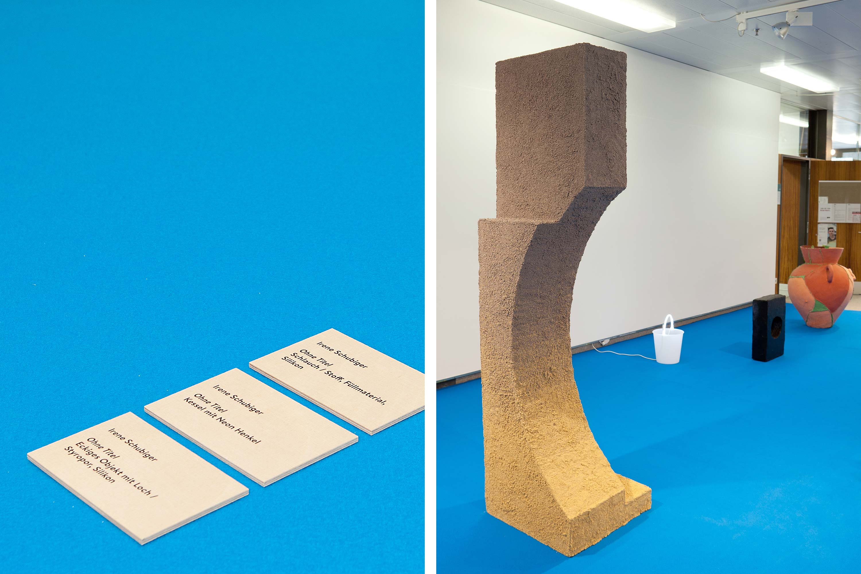 Schule für Gestaltung Bern und Biel Out of Mud, exhibition 09  ©Atelier Pol × Fabio Blaser