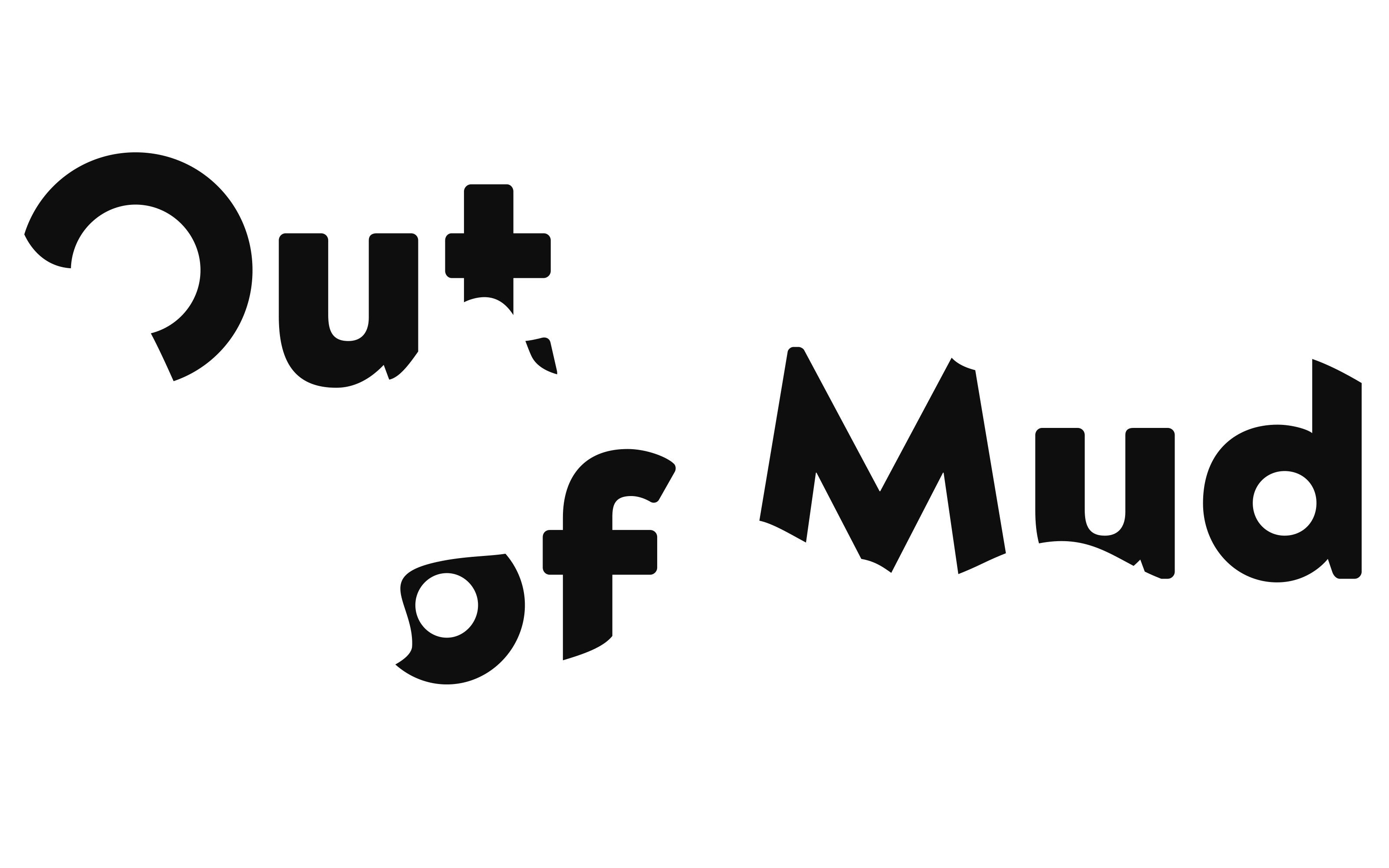 Schule für Gestaltung Bern und Biel Out of Mud, logotype  ©Atelier Pol × Fabio Blaser
