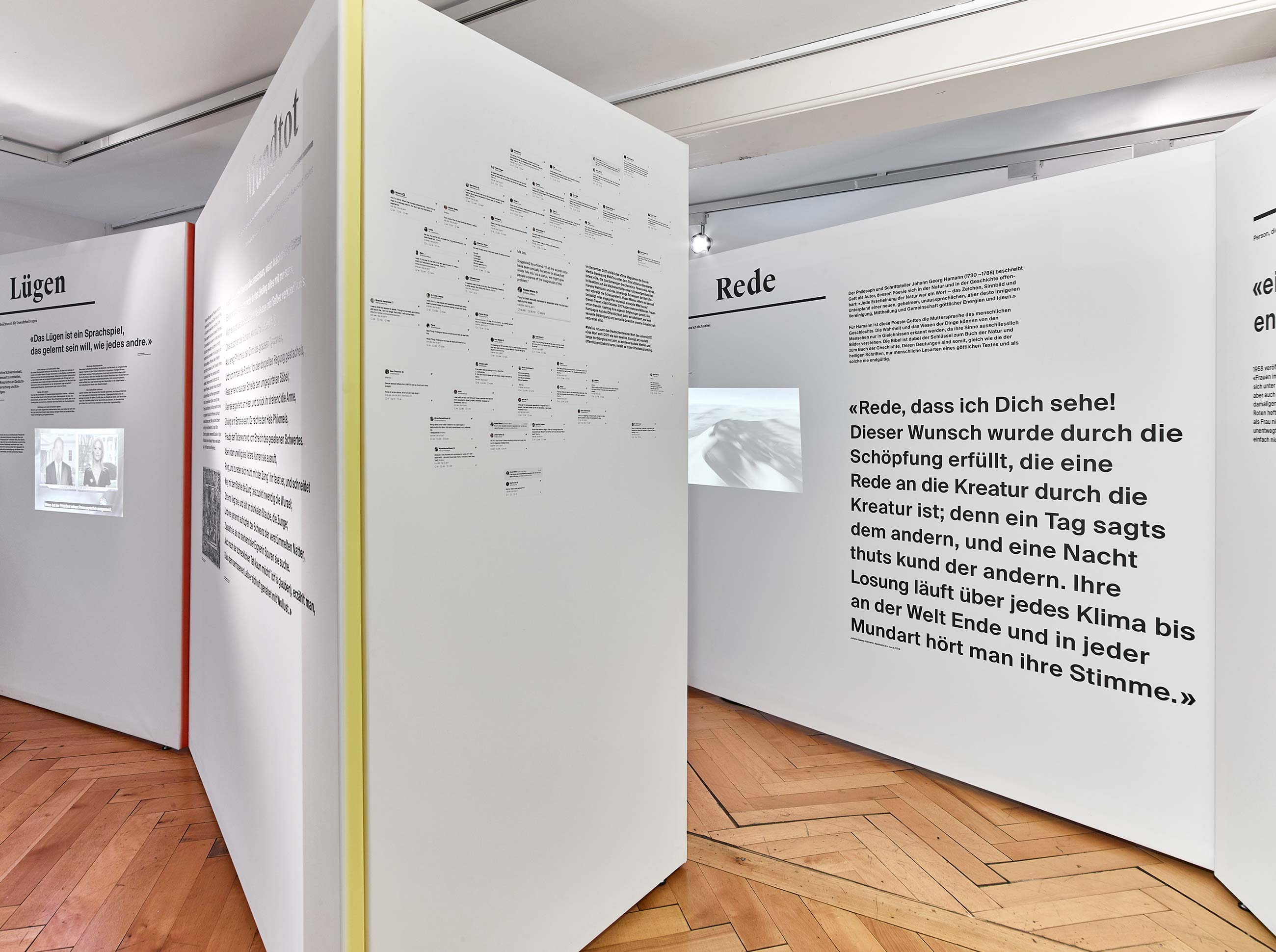 Strauhof Das Wort, ABC R  ©Atelier Pol × Zeljko Gataric