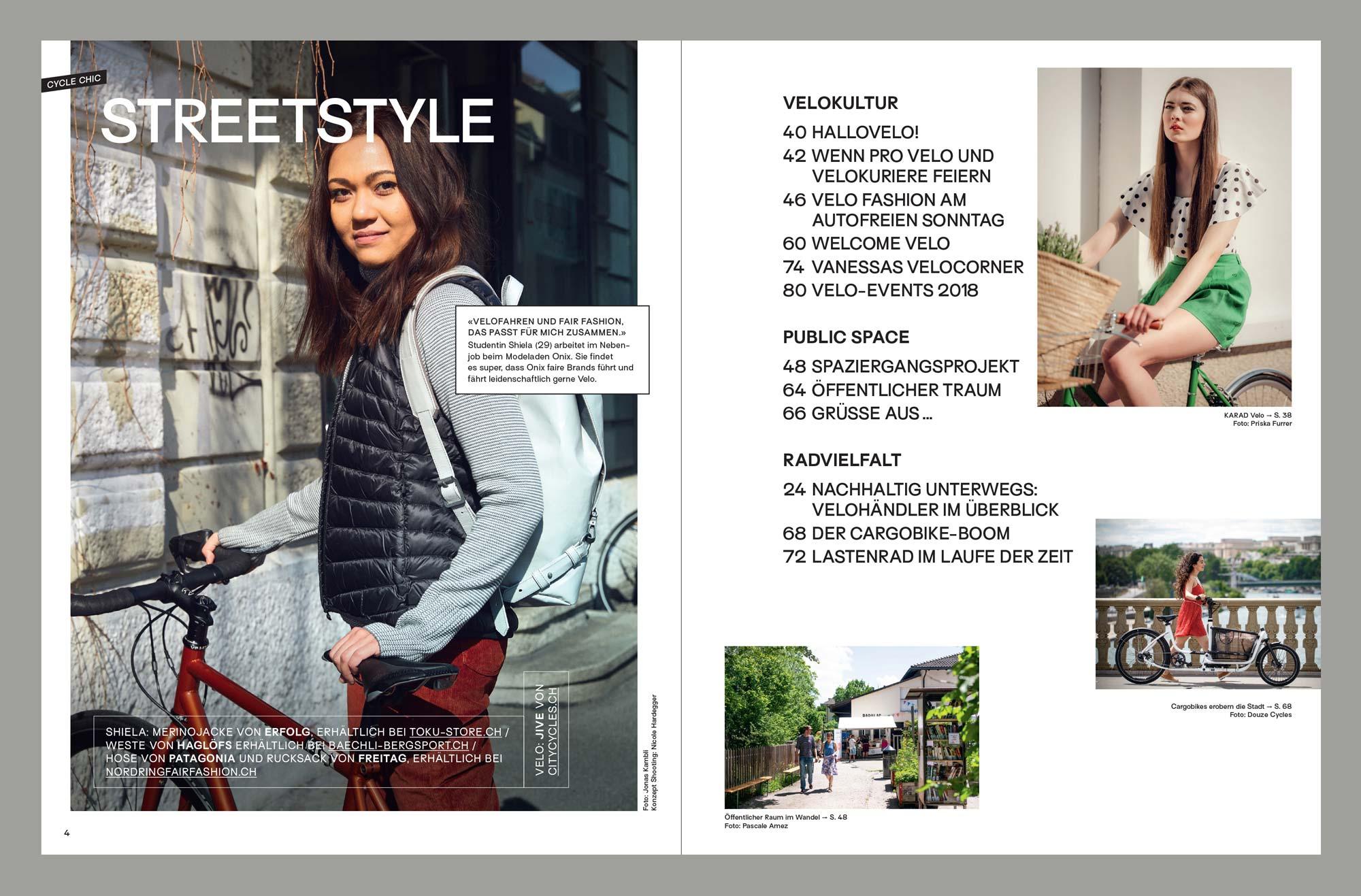 Velo Fashin Magazin, Editorial Design © Atelier Pol
