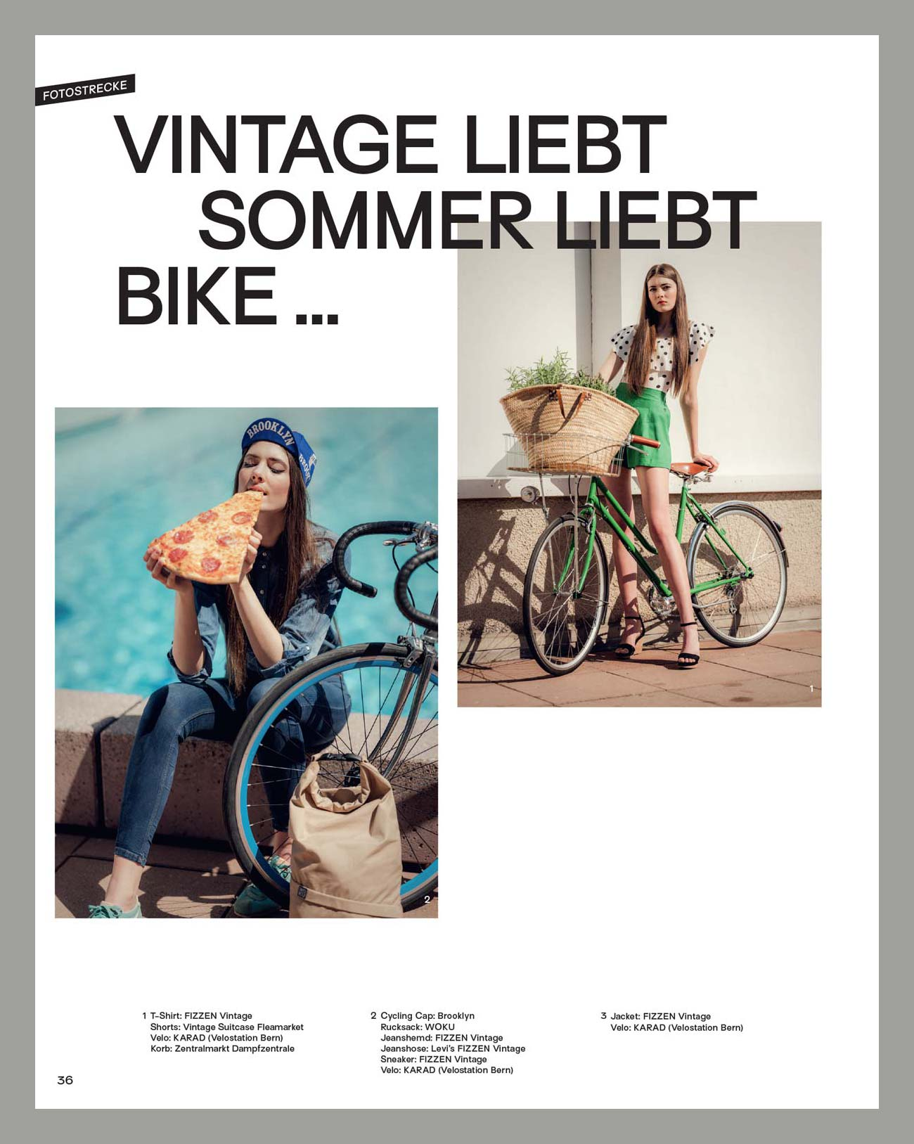 Velo Fashion Magazin 2018/19