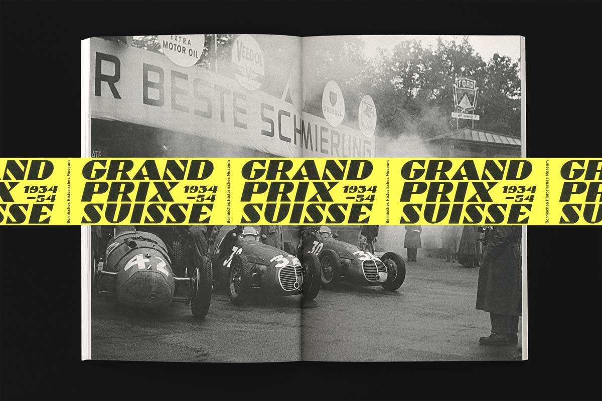 Publikation zur Ausstellung «Grand Prix Suisse 1934–54. Bern im Rennfieber»