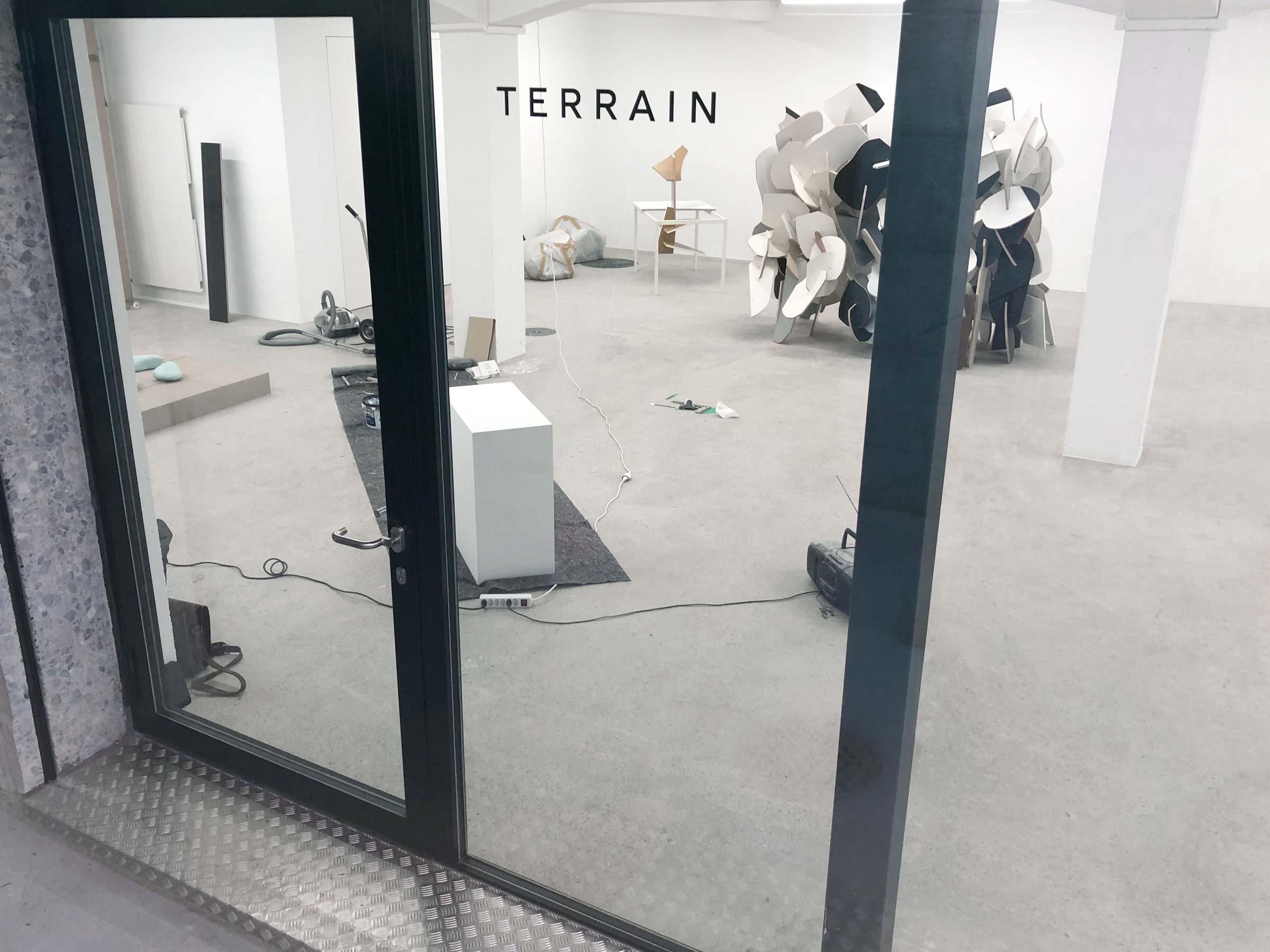 Eröffnung «Terrain» mit Giro Annen