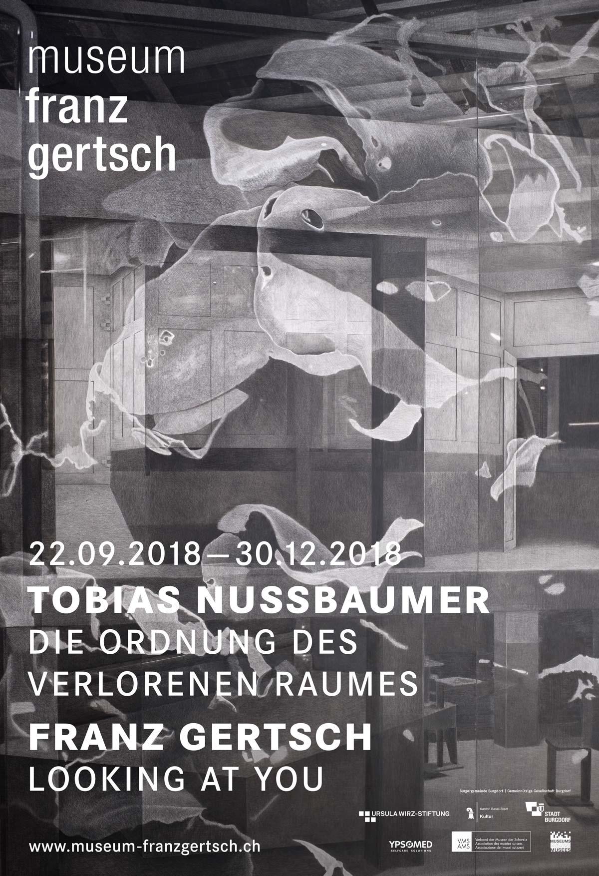 Vernissage Tobias Nussbaumer – Die Ordnung des verlorenen Raumes