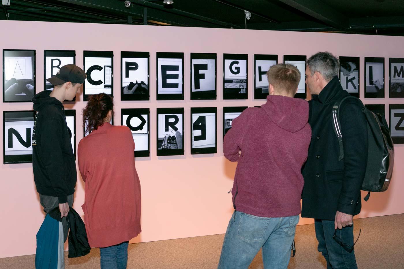 Atelier Pol, Schule für Gestaltung, Bern, exhibition, typography, juliane wolski, switzerland