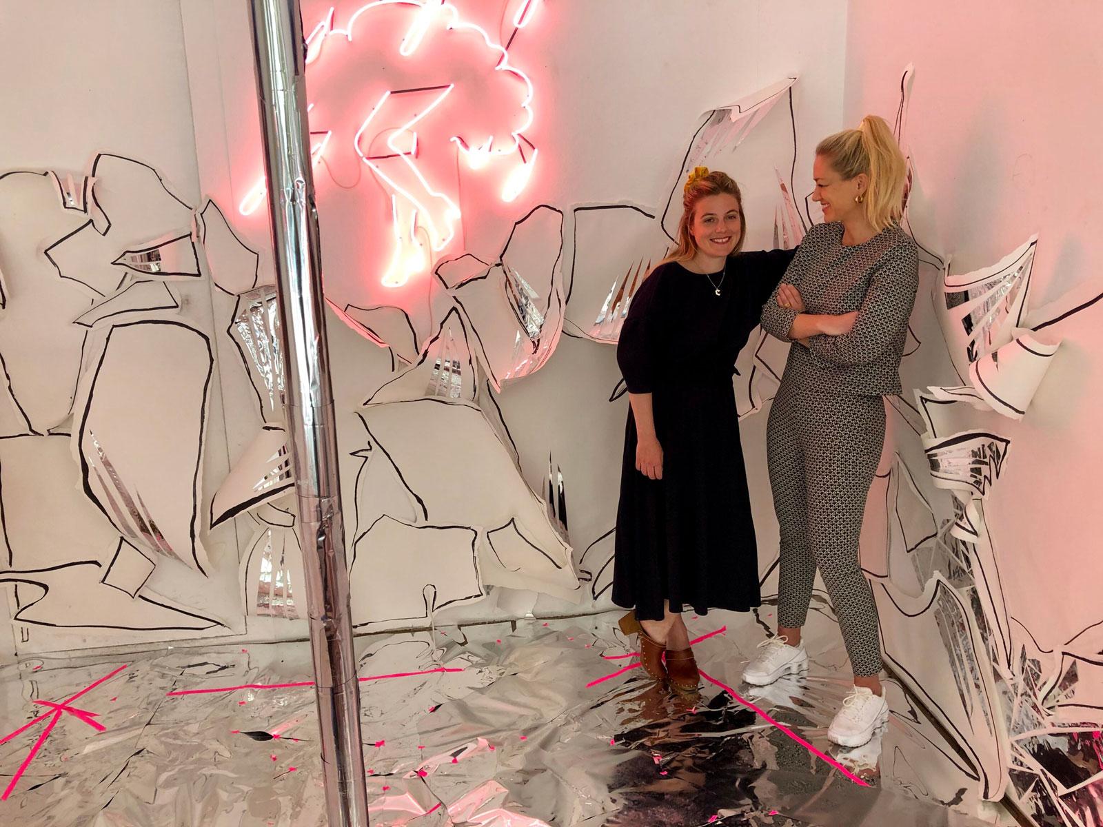Atelier Pol, Antichambre, exhibition, Annabelle Schneider, Joëlle Lehmann, Snapfinger, Bern, New York